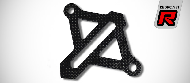 Vision Racing B5 series carbon fibre battery braces