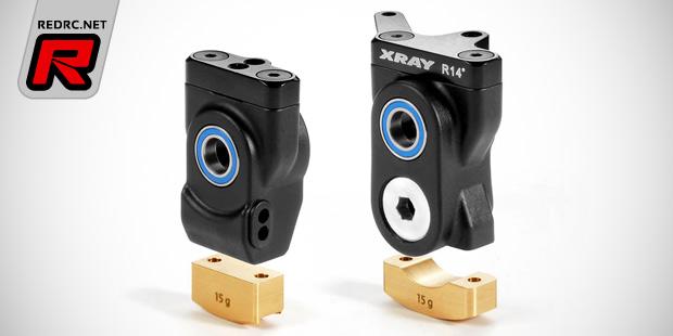 Xray XB8 brass suspension weight sets