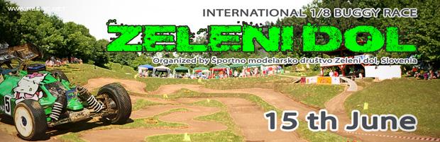 International 1/8 Buggy Race – Announcement