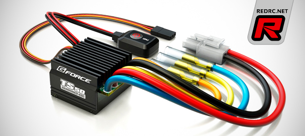 GForce TS 50A Type-C sensored brushless ESC