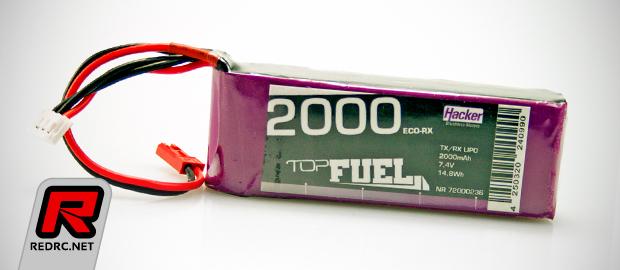 Hacker TopFuel 2000mAh LiPo receiver battery