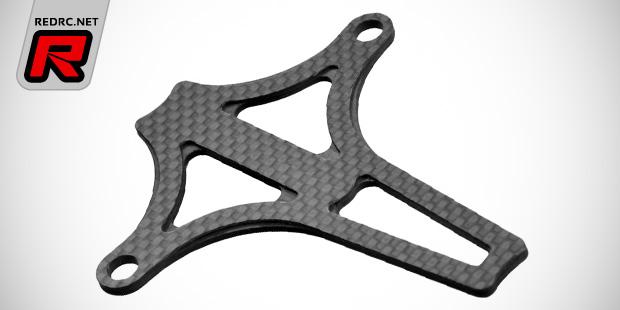 JConcepts B5 series Foxy carbon fibre battery braces