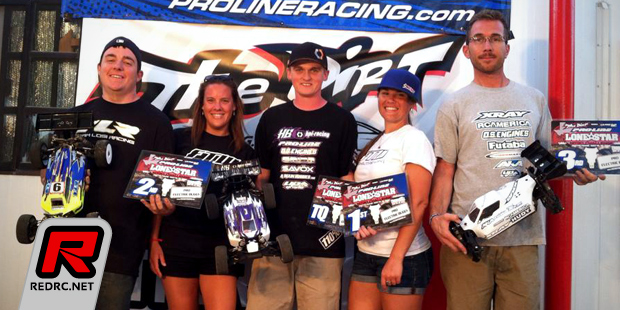 King & Tessmann win at Lone Star Challenge