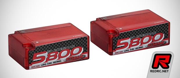 Nosram X-treme Race hardcase LiPo battery packs