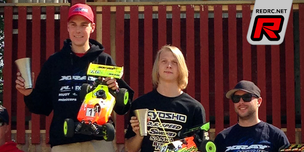 Kennie Ekenstierna takes 1/8 Off-road Swedish Cup