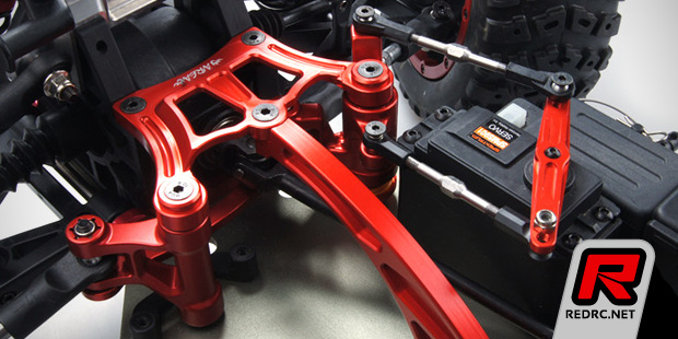 Area Rc Dbxl Double Arm Steering System Red Rc Rc Car News