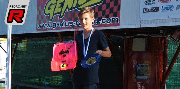 Anthony Abisset wins European 1/8th 'B' title