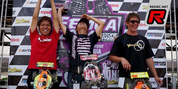 Atsushi Hara wins FEMCA championships