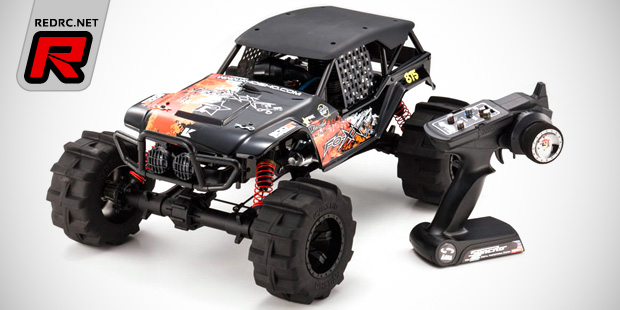 Kyosho FO-XX 1/8th basher truck