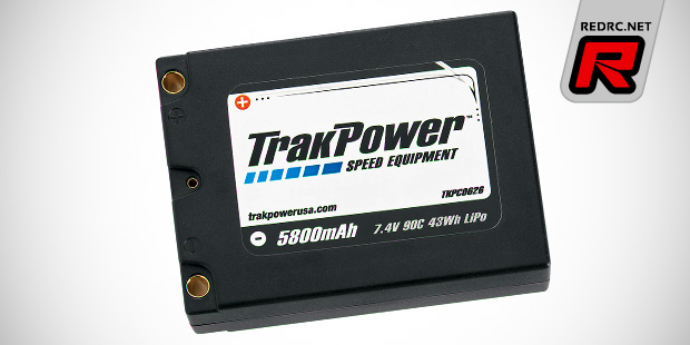 TrakPower 5800mAh square LiPo battery pack