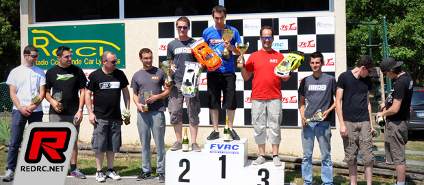 Derderian & Campourcy win at French 1/10th nats Rd4