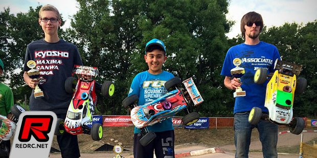 Burak Kilic takes German Truggy nationals