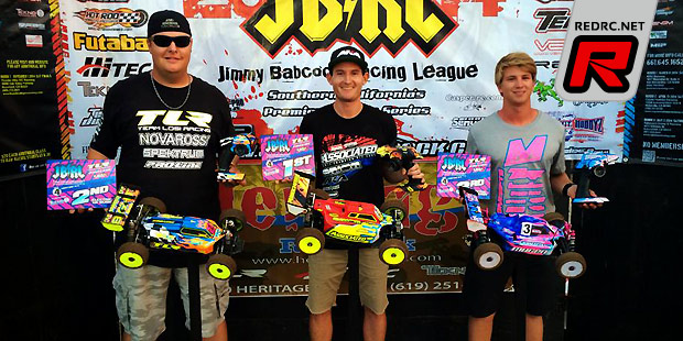 Ryan Cavalieri wins E-Buggy at JBRL Rd4