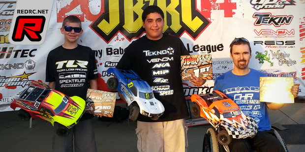 Rudy Rico doubles at JBRL Electric Series Rd6