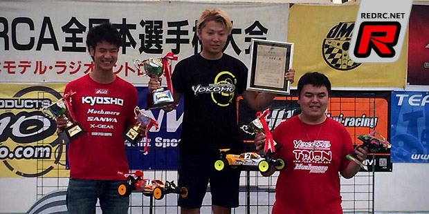Naoto Matsukura doubles at JMRCA buggy nationals