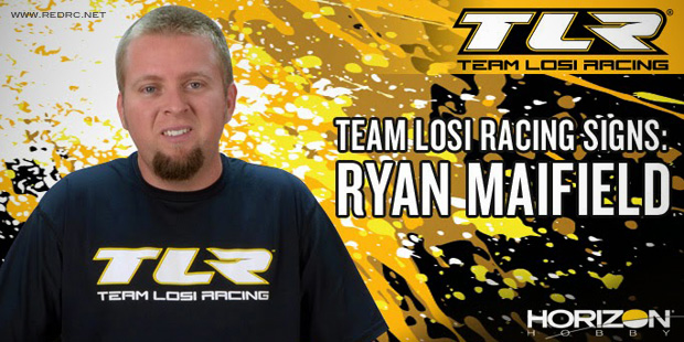 Ryan Maifield team up with Team Losi Racing