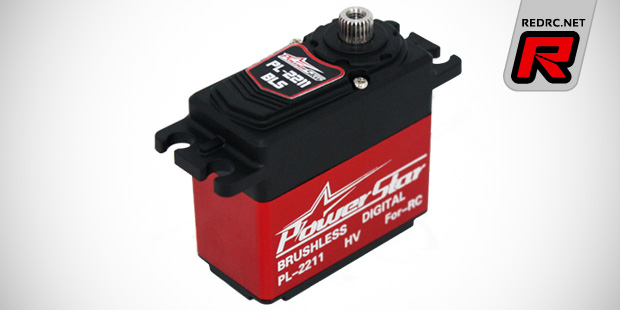 New Power Star brushless standard size servos