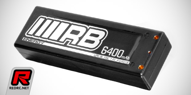RB Energy 100C hardcase LiPo battery packs