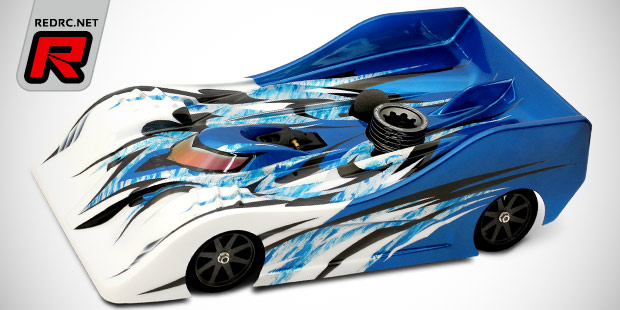 Titan Blitz TS02G 200mm GP racing bodyshell