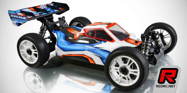 Xray introduce the XB8E 1/8th electric off-road buggy