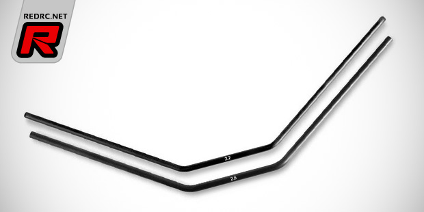Xray XB8 2.2mm & 2.6mm front anti-roll bars