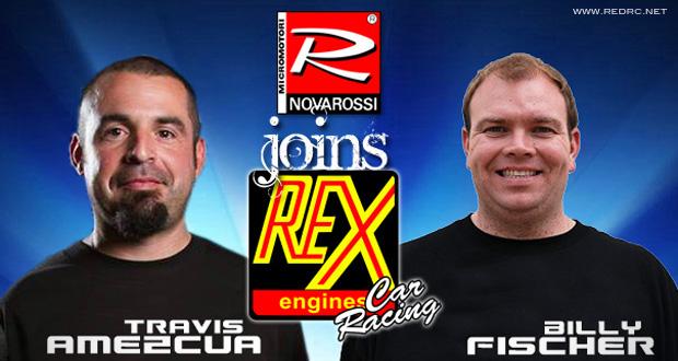 Amezcua & Fischer join Rex Engines