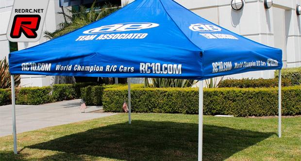 Team Associated branded canopy