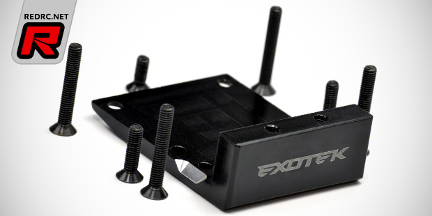 Exotek 410 series rear skid plate weight-3