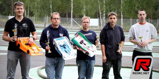 Finnish 1/8th on-road nationals Rd4 - Report