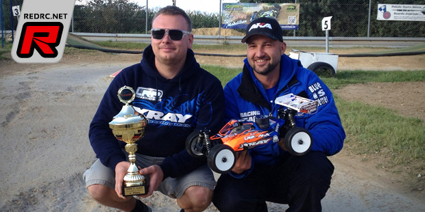 Martin Bayer wins German nitro buggy nationals Rd1