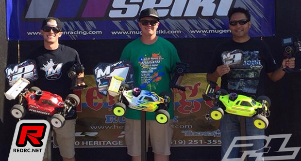 Drew Moller double at Mugen Seiki GP series Rd2