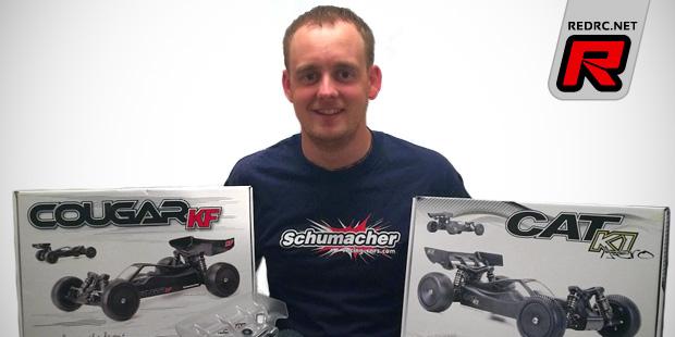 David Poulter re-joins Schumacher