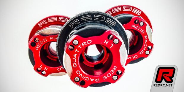 Reds Racing Quattro clutch steel flywheel