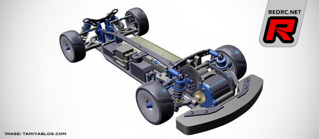 Tamiya FF-04 Evo FWD limited edition chassis