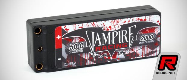 Vampire Racing 2S 2000mAh LiPo micro battery pack