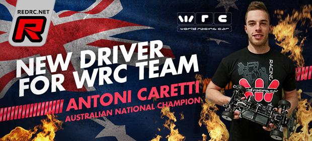 Antoni Caretti joins WRC Racing