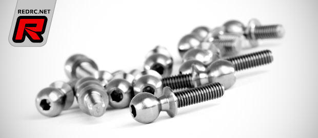Avid 5.5mm & 4.9mm titanium ball studs