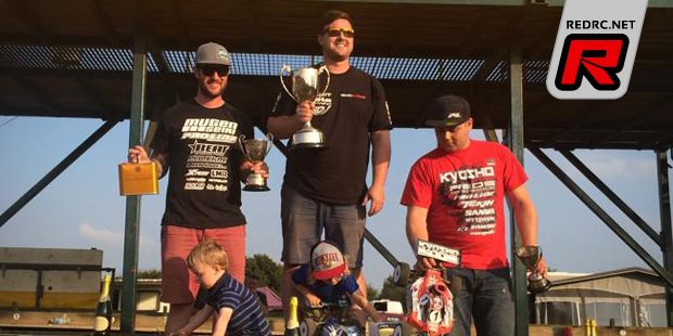 Bloomfield takes 2014 BRCA 1/8th nitro buggy title