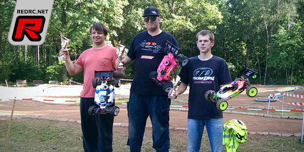 Rainer Ressar wins 1/8th class at Baltic Champs