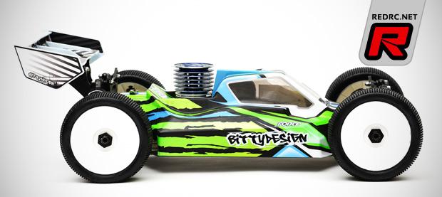 Bittydesign XB8 Force bodyshell