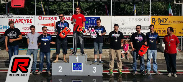 French 1/10th Nitro On-road champs Rd5 – Report