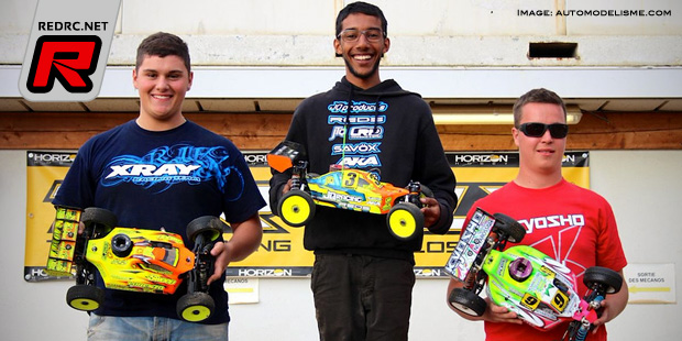 Rayan Medjoubi wins at French Elite champs Rd5