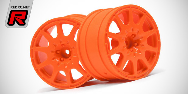 YELLOW SS4-LY Speedline ST Wheels for TLR 22T 4 pieces DE Racing