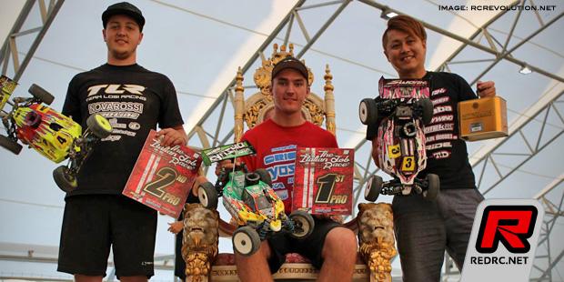 David Ronnefalk TQ's & wins at Italian Job Race