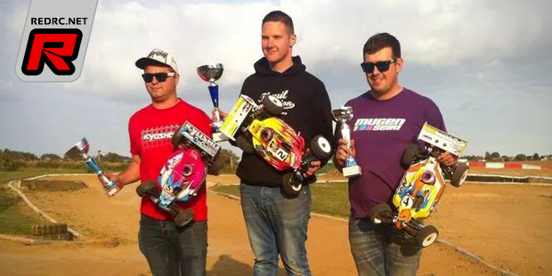 Cedric Nickell wins at League 4 race in France