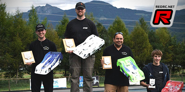Scheidegger wins 1/8th Electric class at MC-Best Cup
