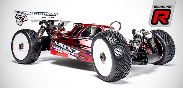 Red Rc Rc Car News Mugen Mbx7r 1 8th Nitro Off Road Buggy
