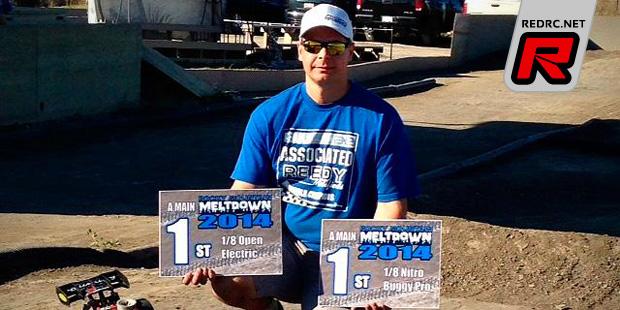 Peter Tozser doubles at Rocky Mountain Meltdown