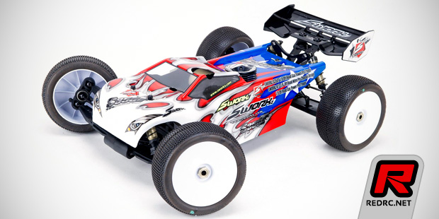 SWorkz S350T 1/8th scale nitro truggy kit