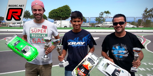 David Perez wins at Spanish TC nats Rd3